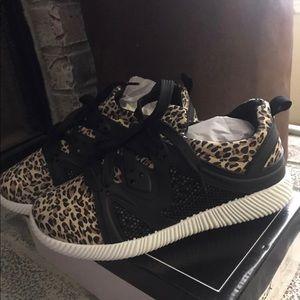 NEW Leopard Tennis Shoes